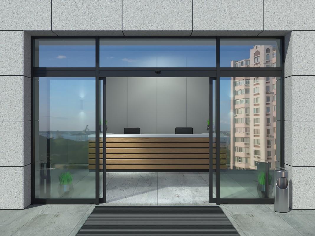Voici les étapes-clés de la réussite d'une installation de porte automatique à Aiglun | Miroiterie Dignoise