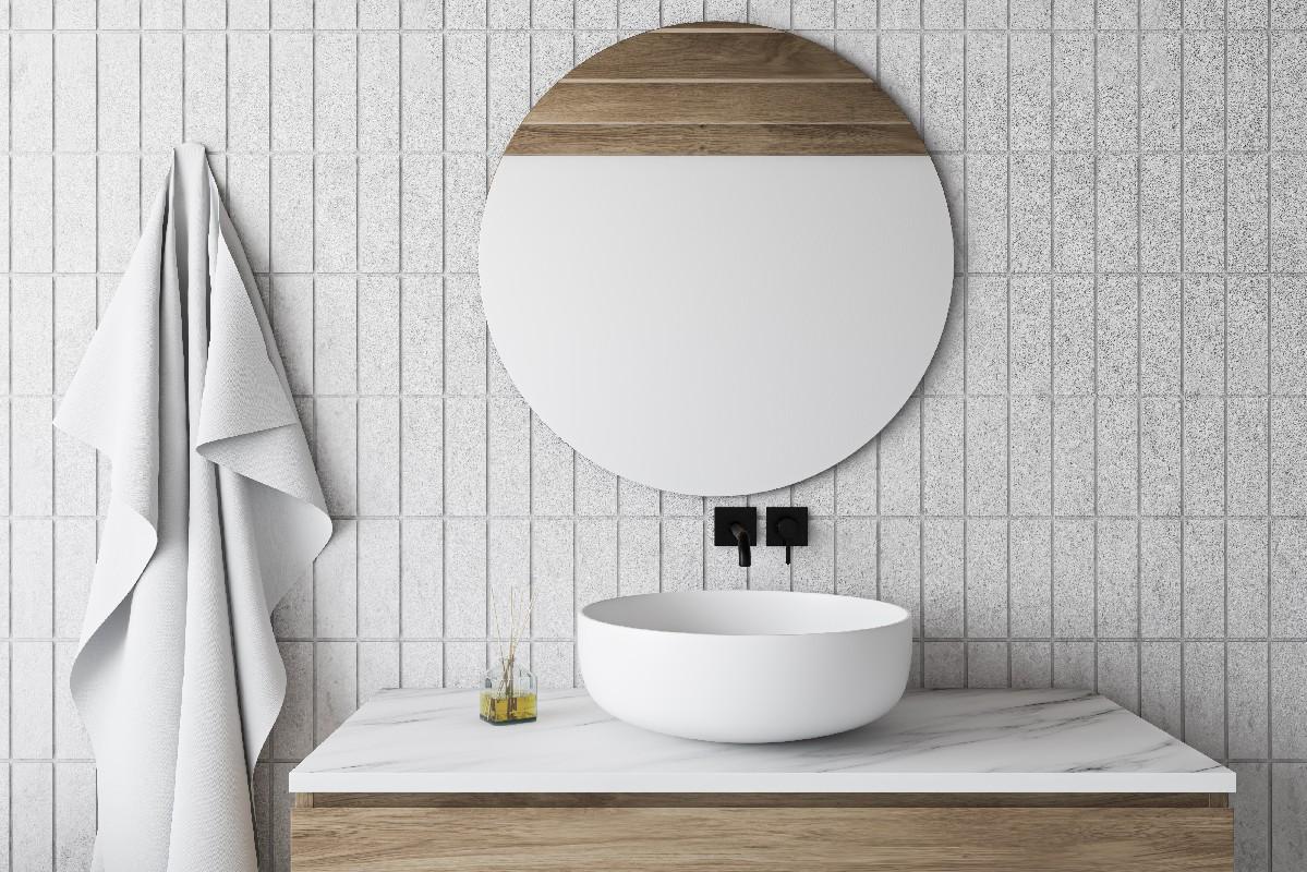 miroir sur mesure pour salle de bain à Aiglun | Miroiterie Dignoise