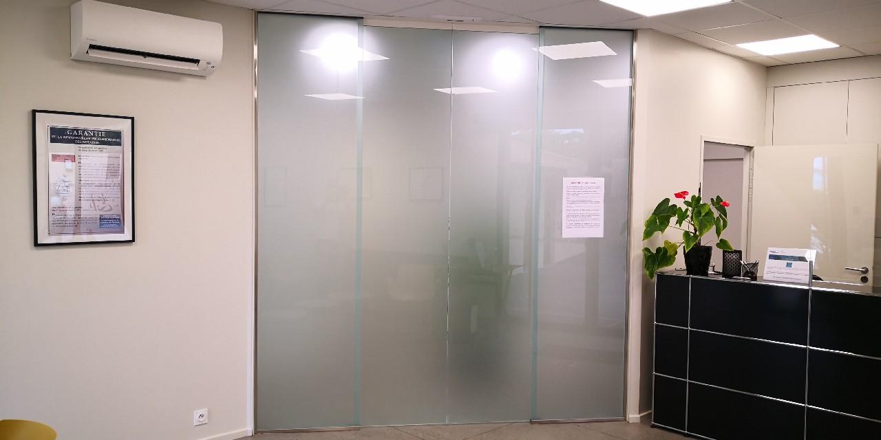 informations concernant une porte automatique à Aiglun | Miroiterie Dignoise